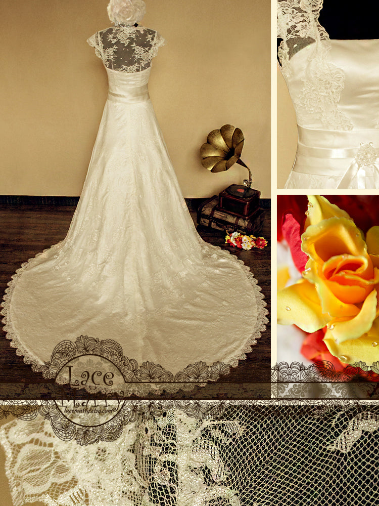 Elegant Wedding Dress Custom Made