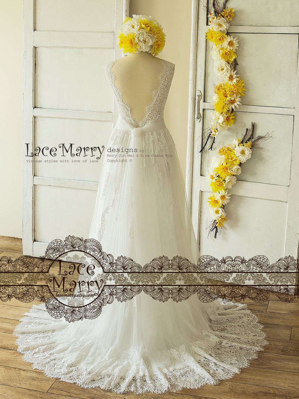 Trendy Lace Wedding Dress