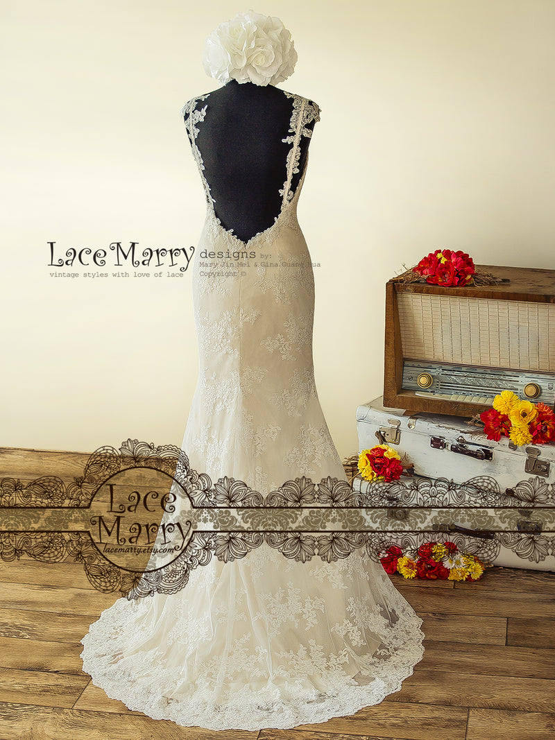 Sexy A Line Lace Wedding Dress