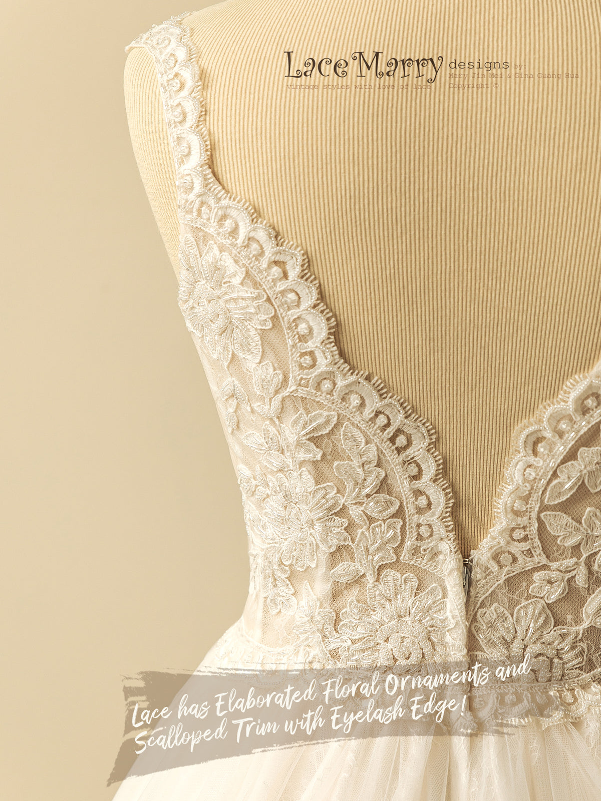 Beautiful Lace Detail