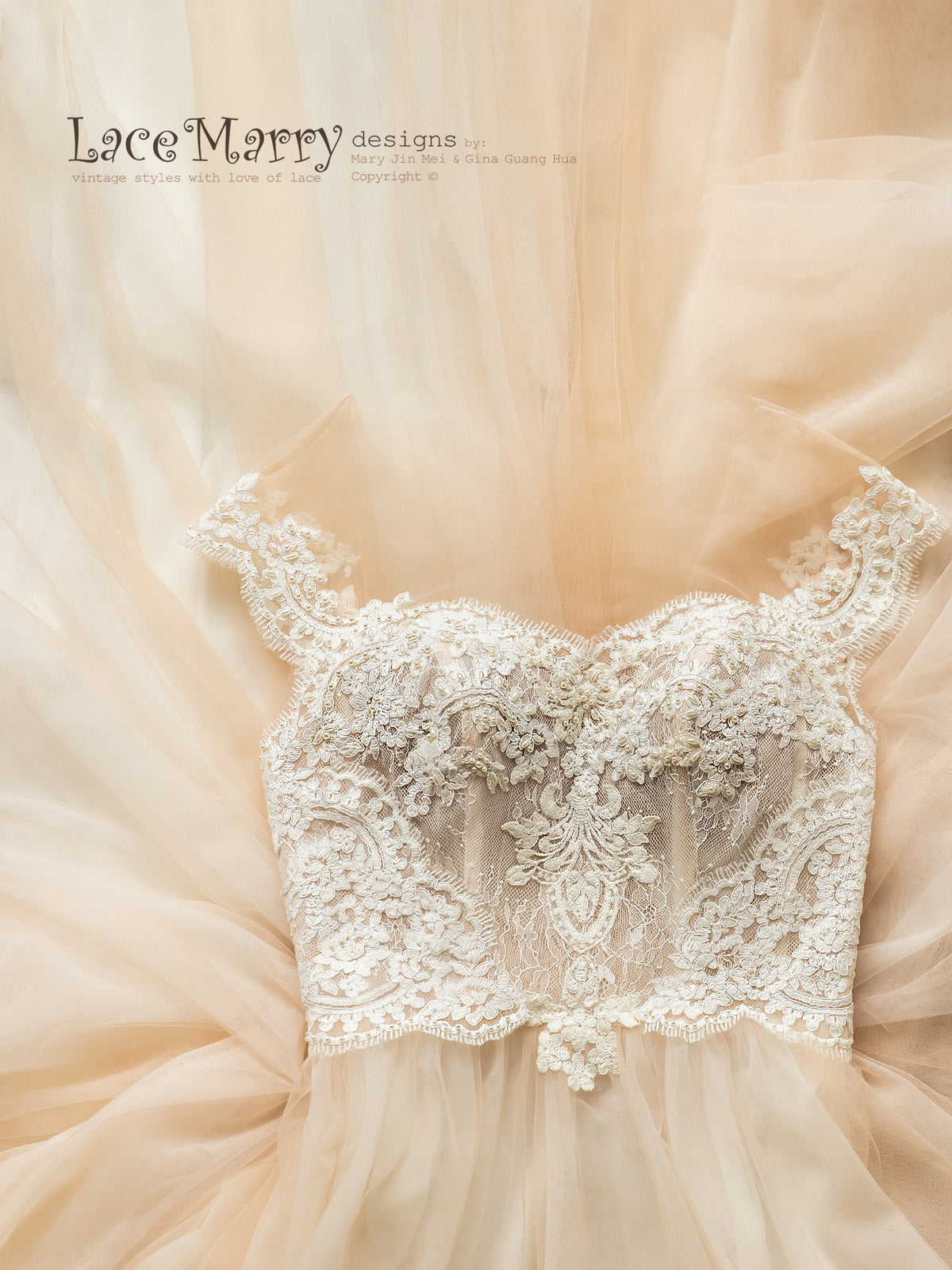Gorgeous Beading Wedding Dress