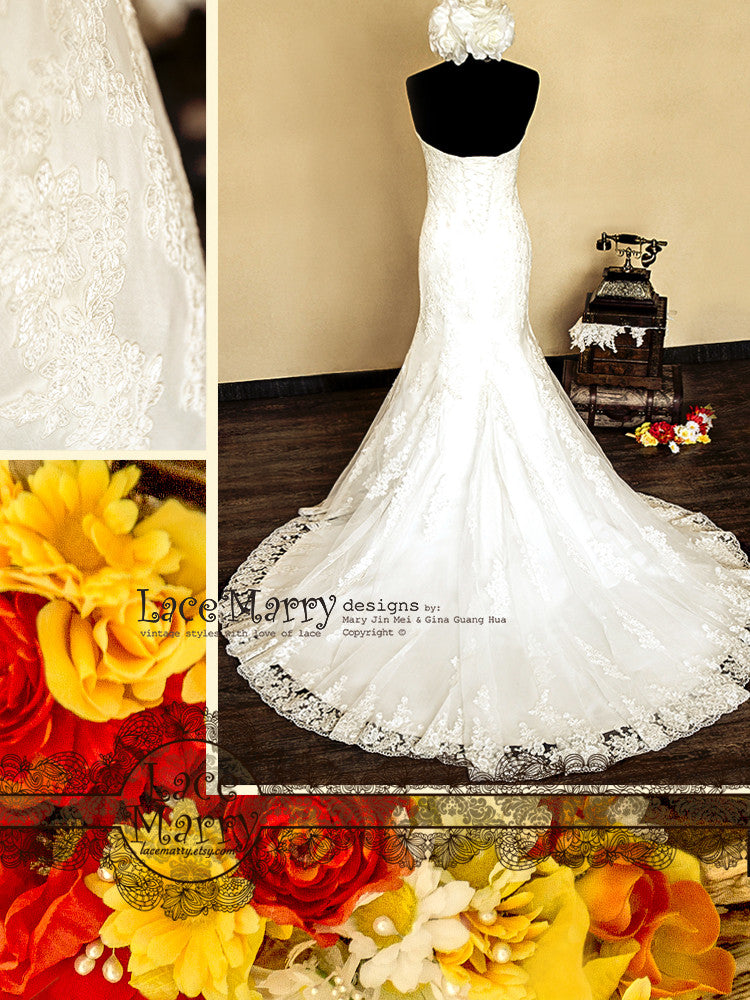 Made to Order Lace Wedding Dress