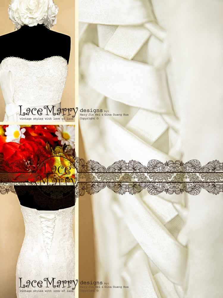 LaceMarry Handmade Wedding Dress