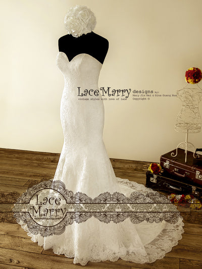 Handmade Vintage Inspired Design Wedding Dresses