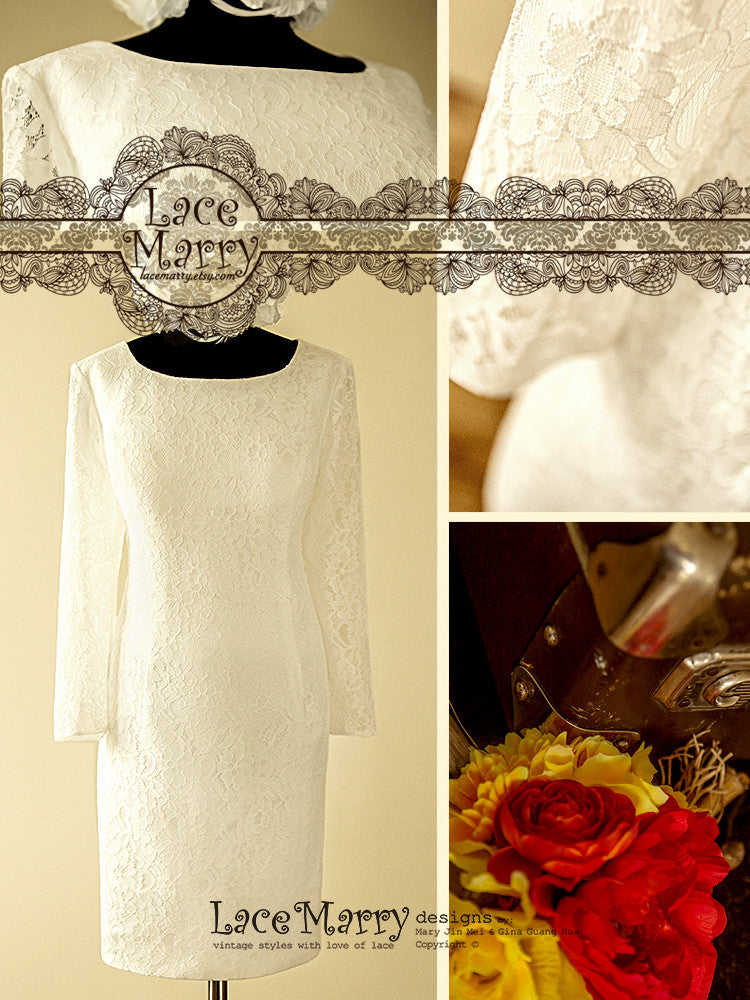 Lace Mother of Bride Dress