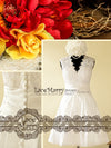 Aristocratic Short Wedding Dress in A-Line Shape