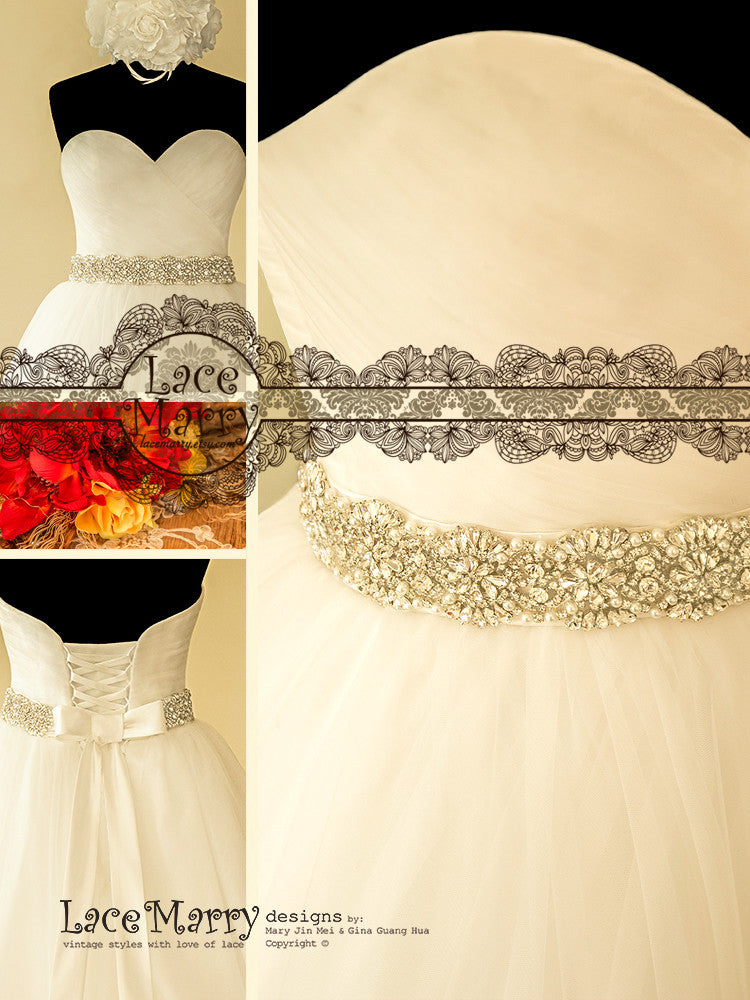 Sweetheart Neckline Ball Gown