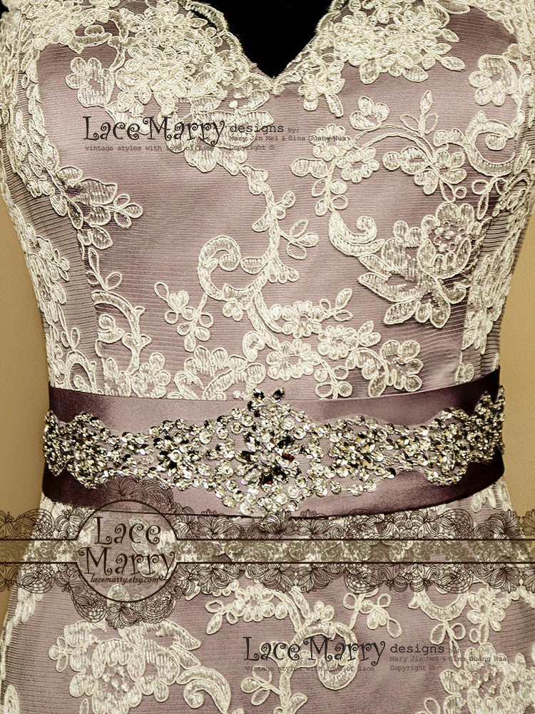 Bridal Belt With Beading