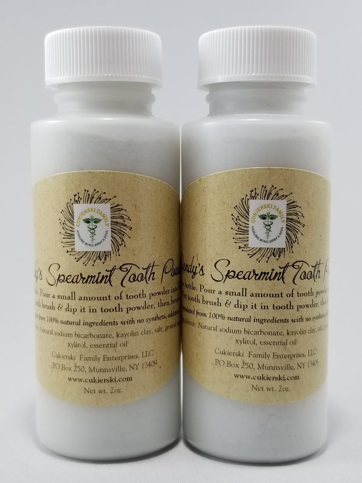 Tooth Powder (2 pack)