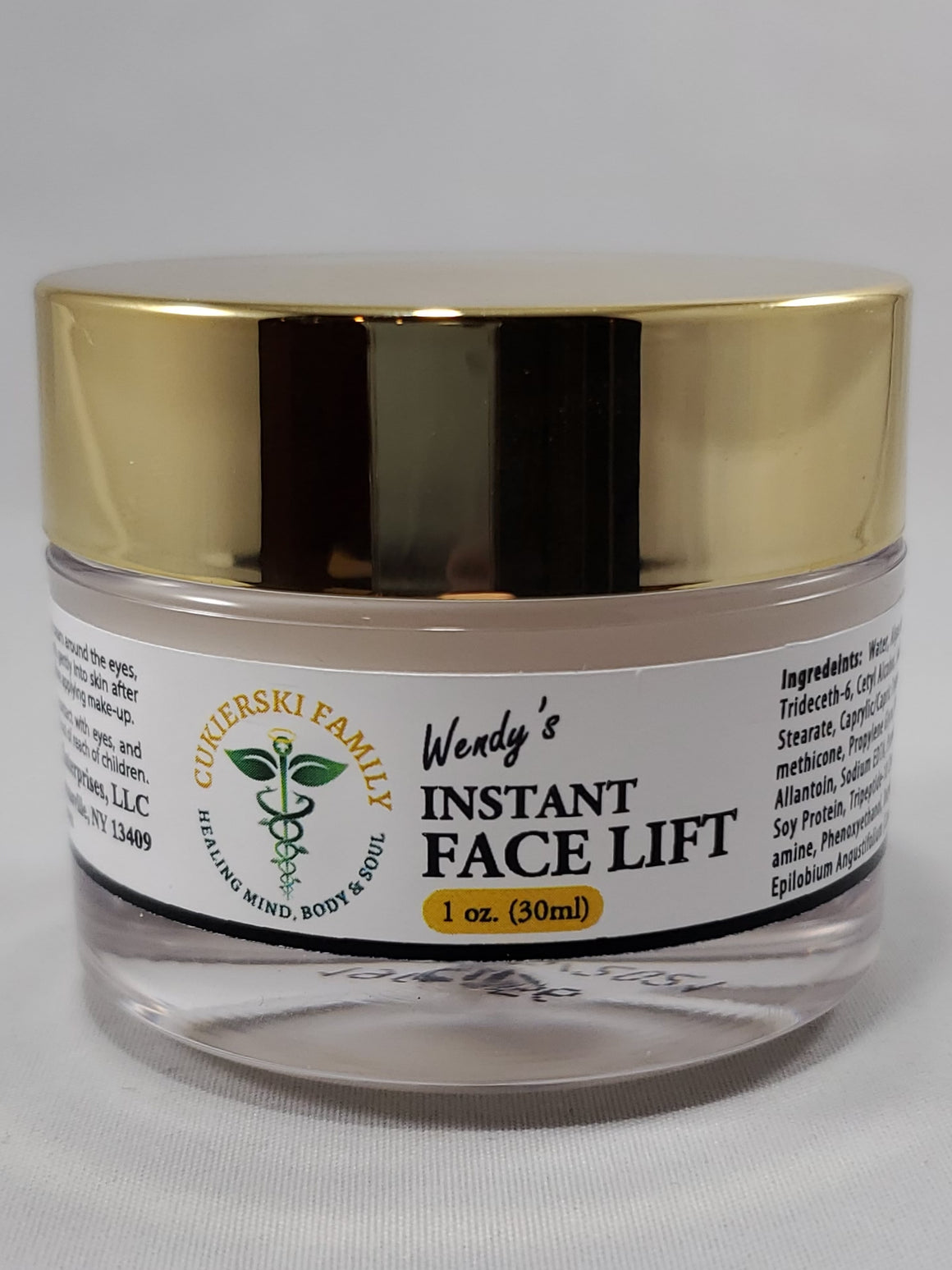 Wendy's Instant Face Lift in a jar