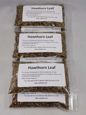 Hawthorn Leaf Tea -package of 6