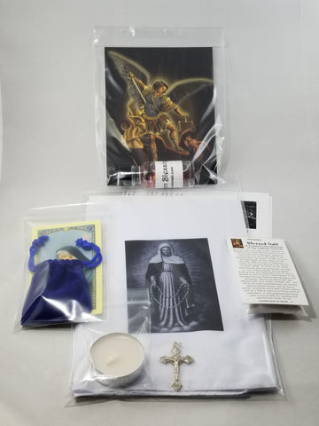 Our Lady of Tears Devotional Package