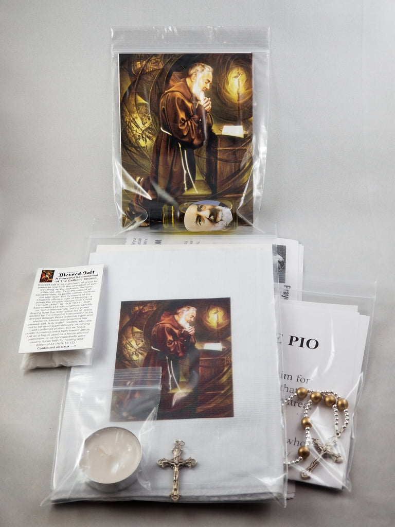 Intercession package - Padre Pio | Cukierski Family