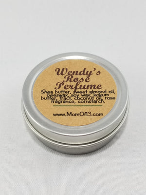 Wendy's All Natural Rose Perfume