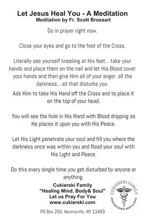 Prayer Card-Let Jesus Heal You