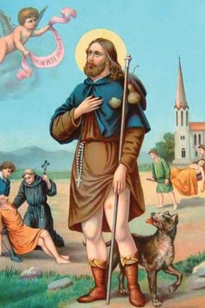 Prayer Card-St. Rocco (diseases)