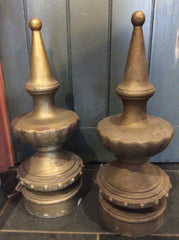 Pair of finials