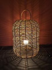 Big wicker light