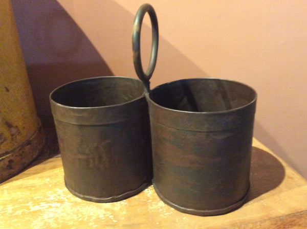 Reclaimed storage pot