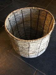 Corn rope basket