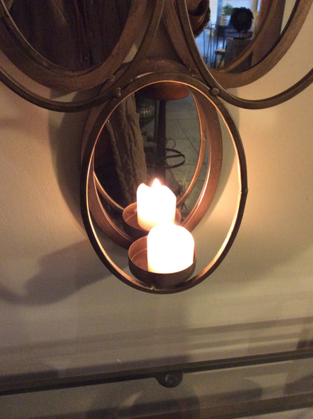 Candle mirror