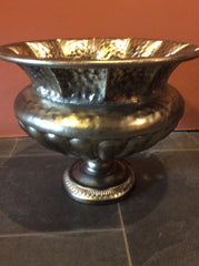 Fabulous big metal urns