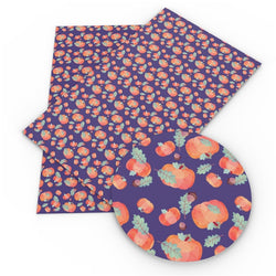 Dark Purple Pumpkins Sheet