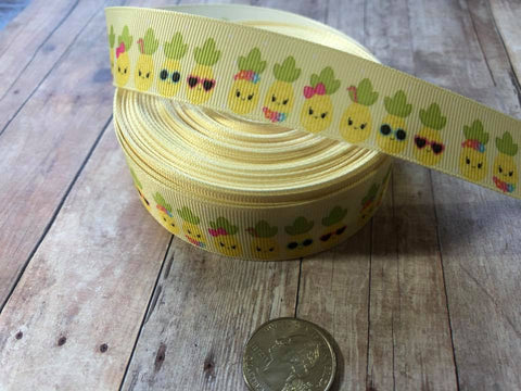 "1"" Pineapple Ribbon"