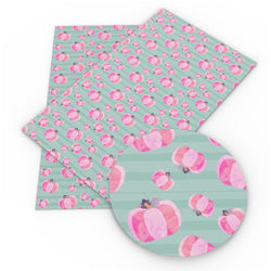 Pink Pumpkins Sheet