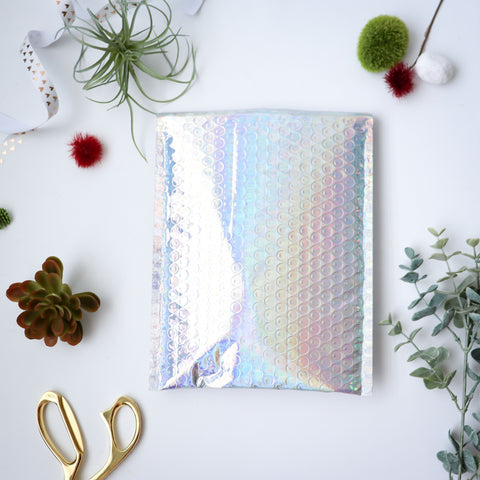 #0 Holographic Bubble Mailers