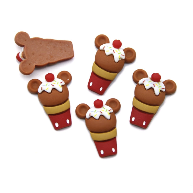 Brown Mouse Ice Cream 3D Resin