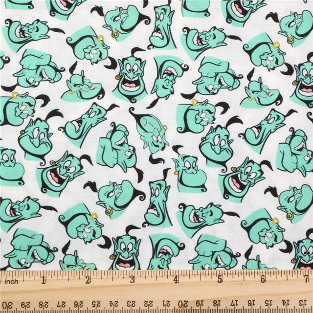 Genie Poly/Cotton Blend Fabric - Half Yard