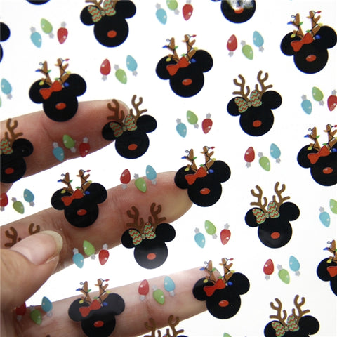 Reindeer Mice Jelly Sheet