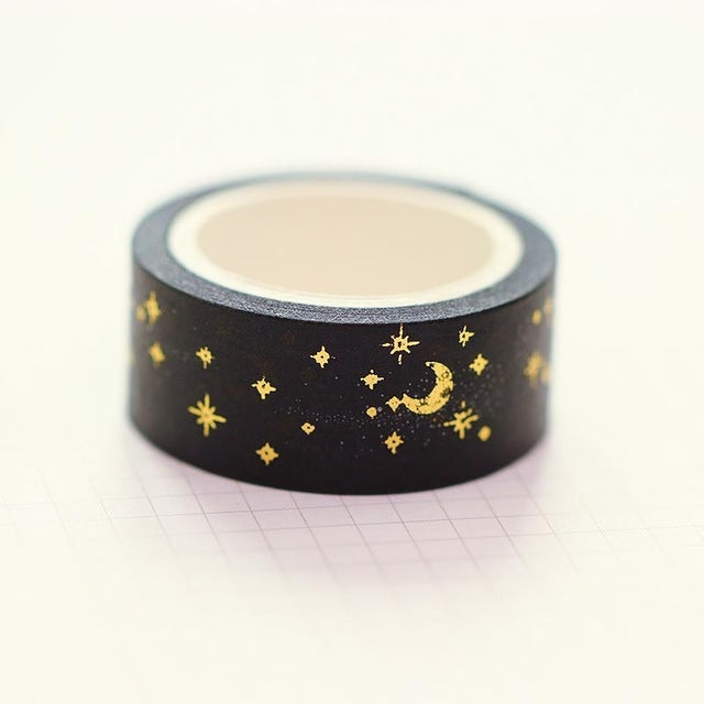 Gold Night Sky Washi Tape