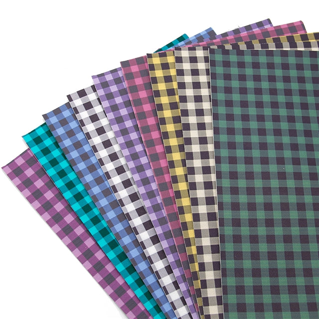 Buffalo Plaid Sheet Pack (9 sheets per pack)