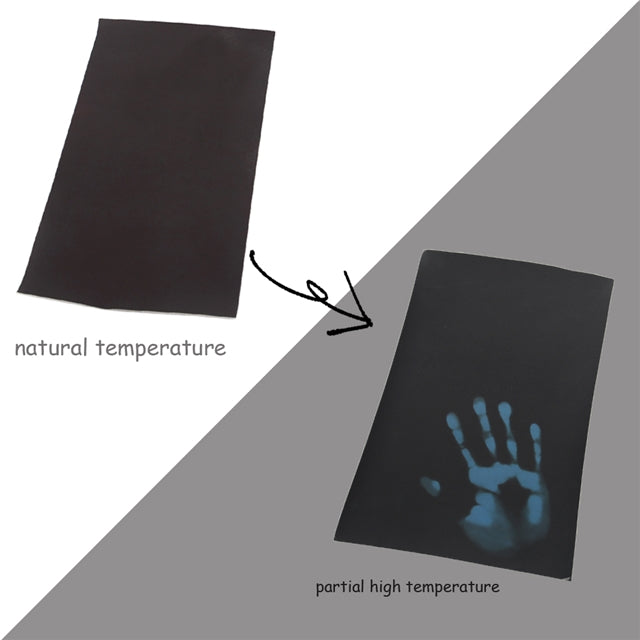 Heat Reactive Black to Blue Sheet
