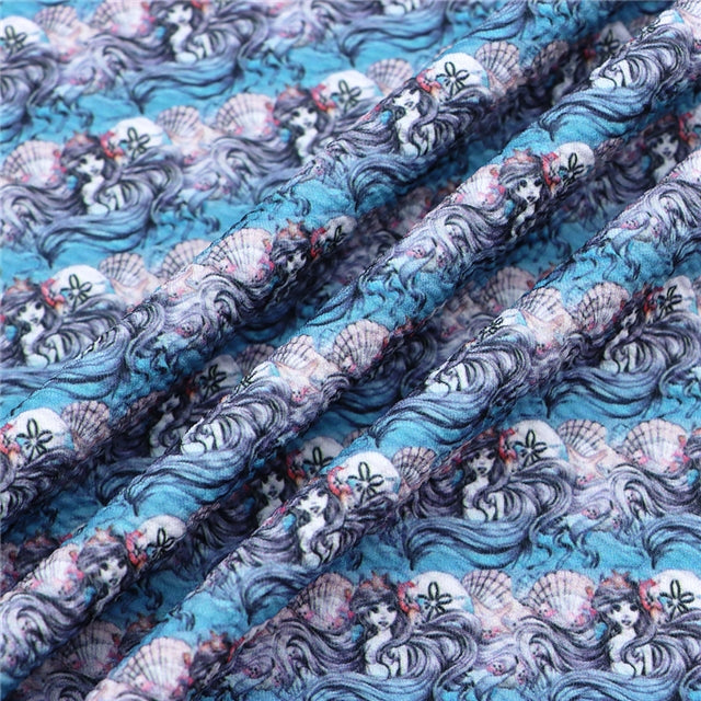 LM Waves Bullet Liverpool Fabric - Half Yard