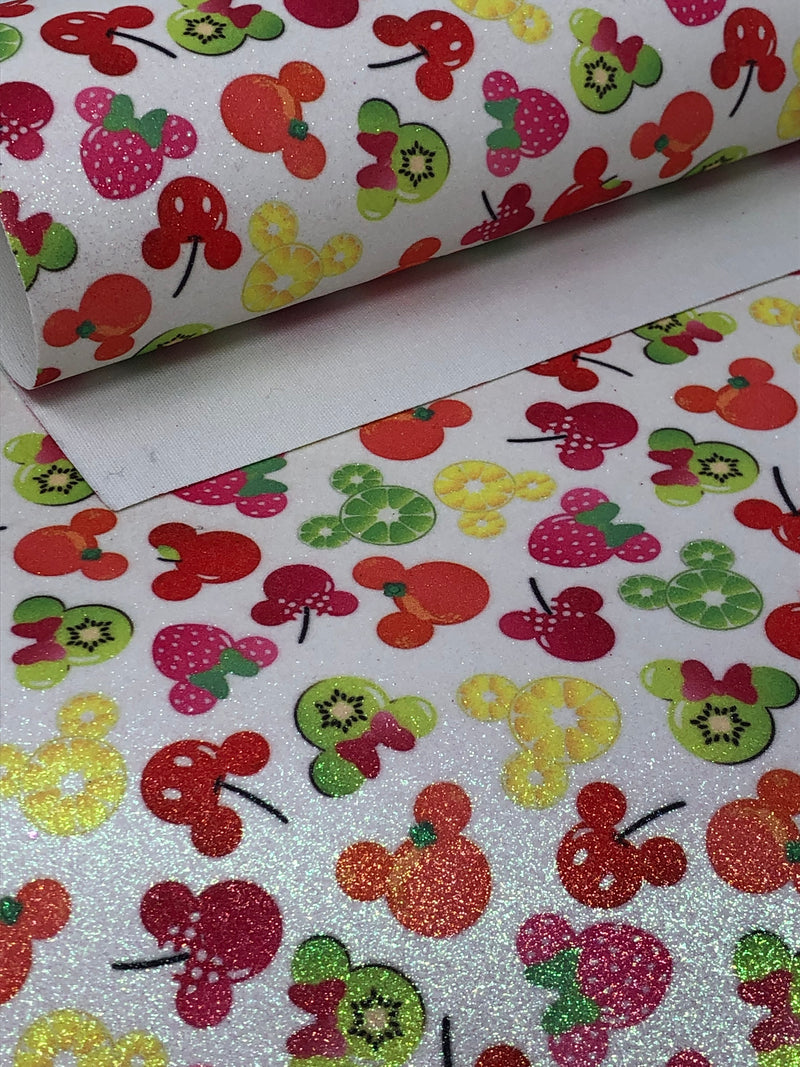 Fruity Mice Fine Glitter Sheet