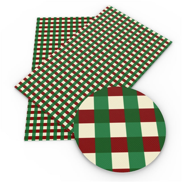 Red and Green Gingham Sheet