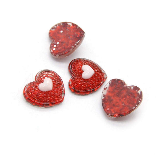 Red Heart 3D Resin