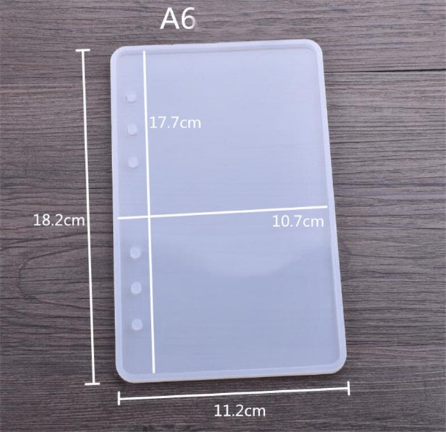 Notebook Cover Resin Mold