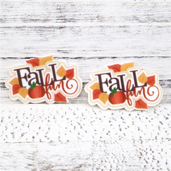 Fall Fun Planar Resin