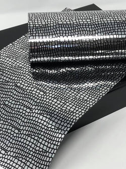 Black and Silver Pattern Sheet