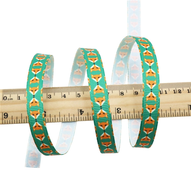 "3/8"" Fox Ribbon"