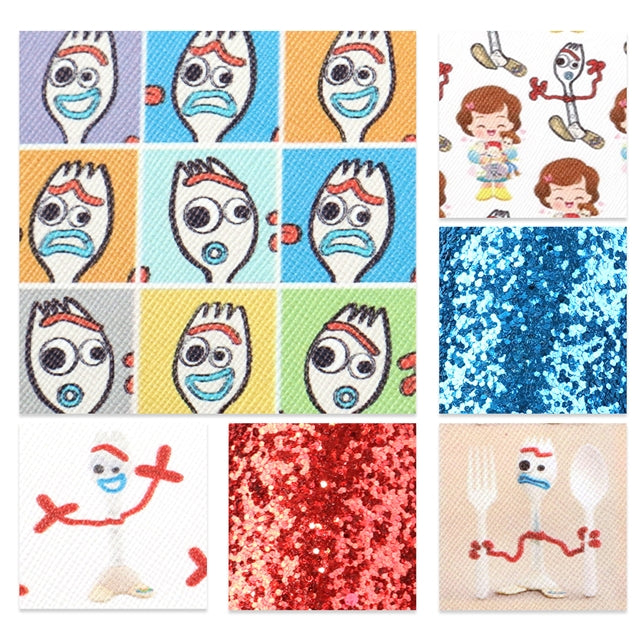 Forky Sheet Pack (6 sheets)
