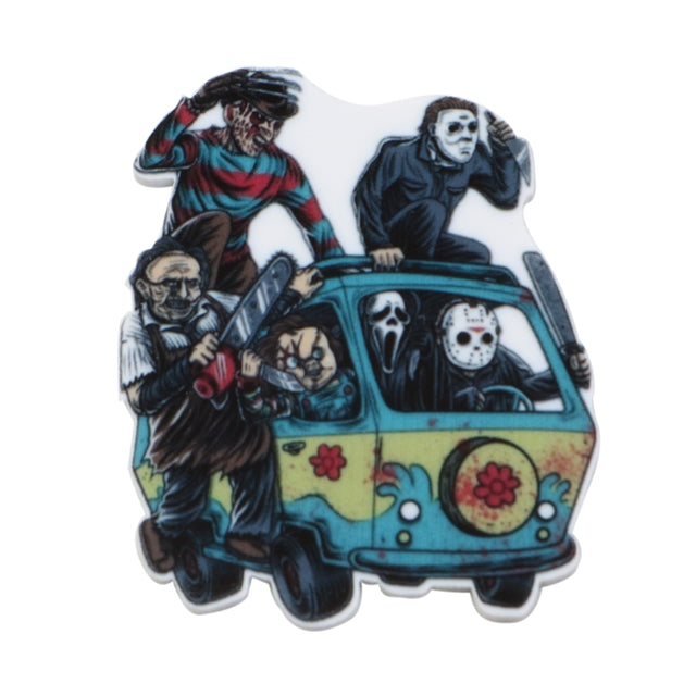 Horror Mystery Machine Planar Resin