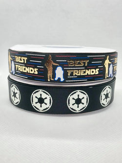 "7/8"" USDR Space Movie Ribbon"
