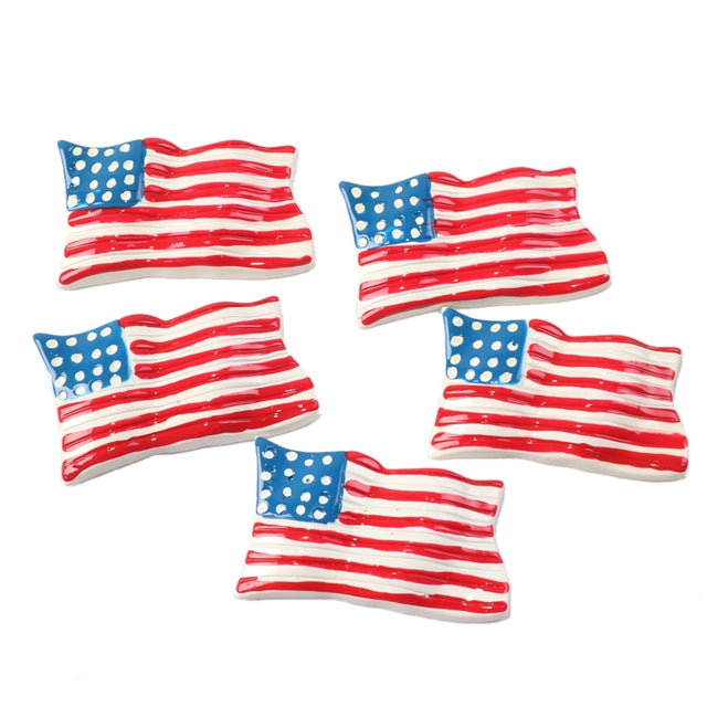 US Flag 3D Resin