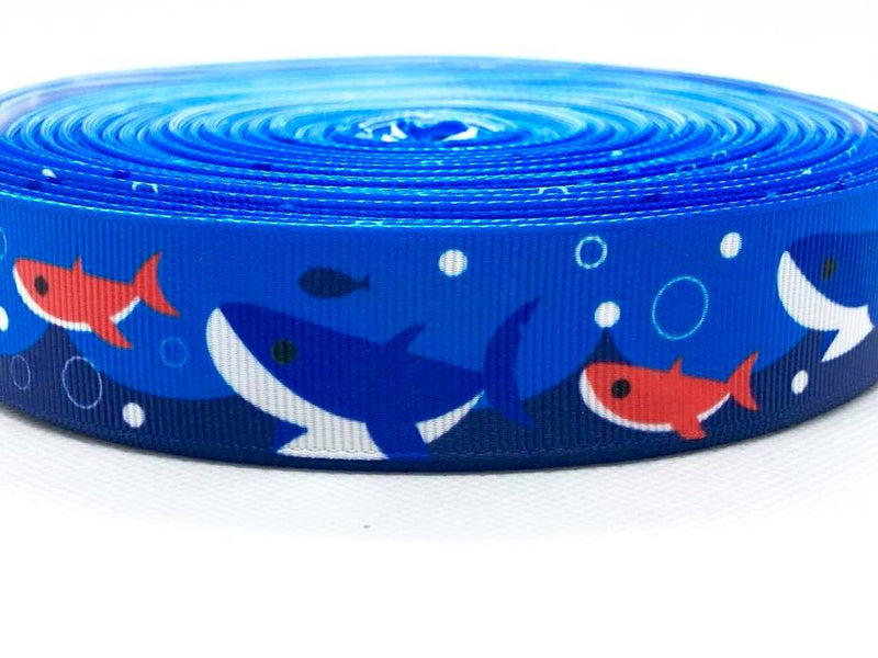 "1"" Shark Ribbon"