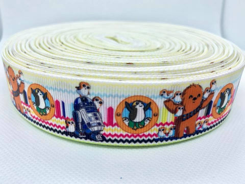"1"" Space Movie Ribbon"